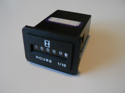 PROG711 Rectangular Hour Meter
