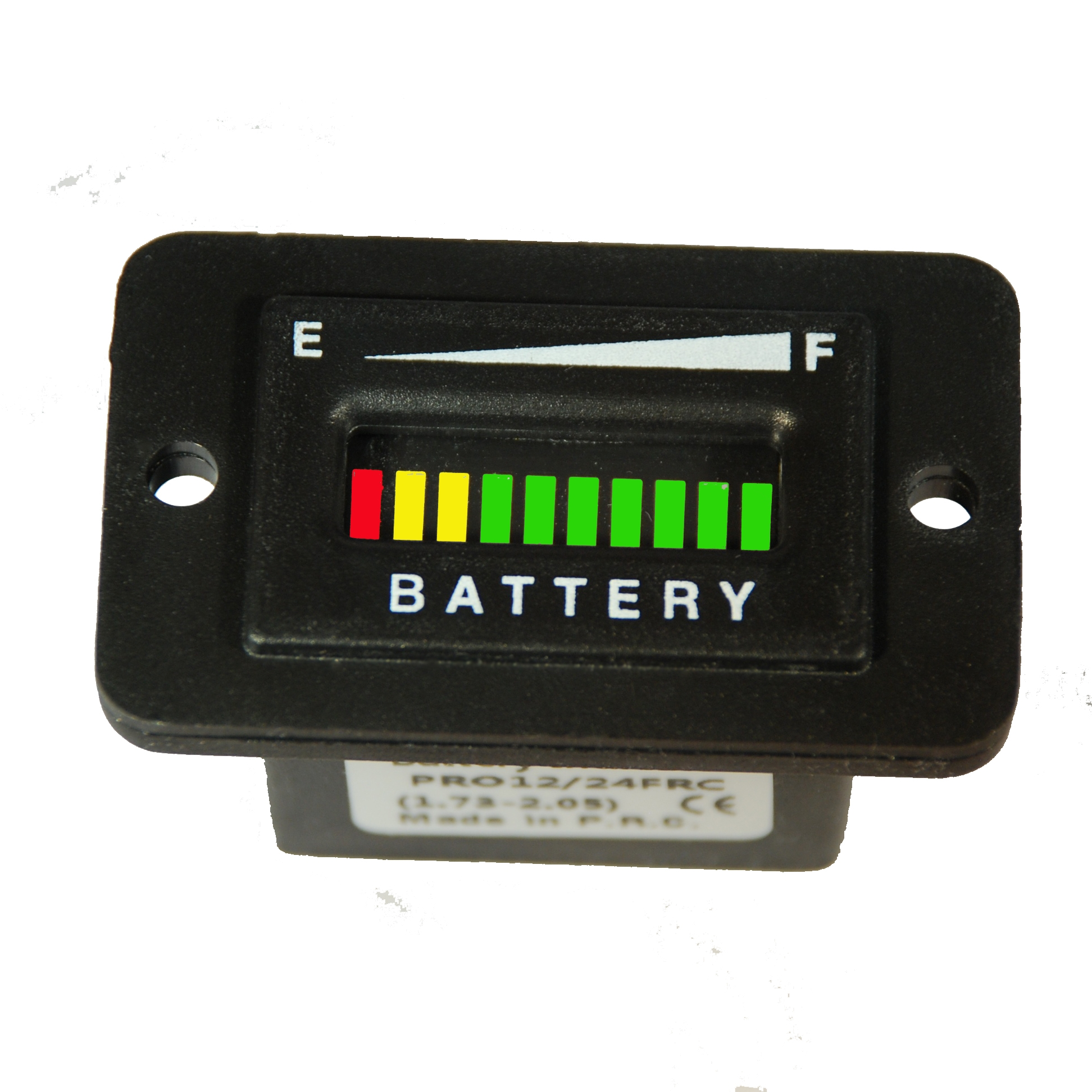 Rectangular Battery Meter